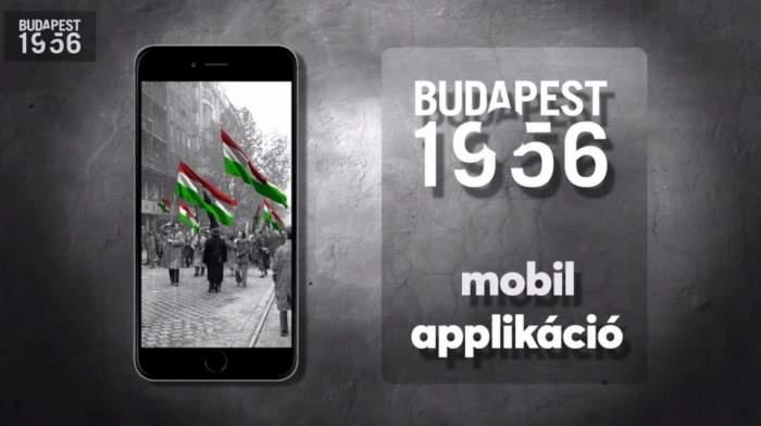 AR mobil alkalmazás mutatja be az '56-os forradalom helyszíneit és eseményeit