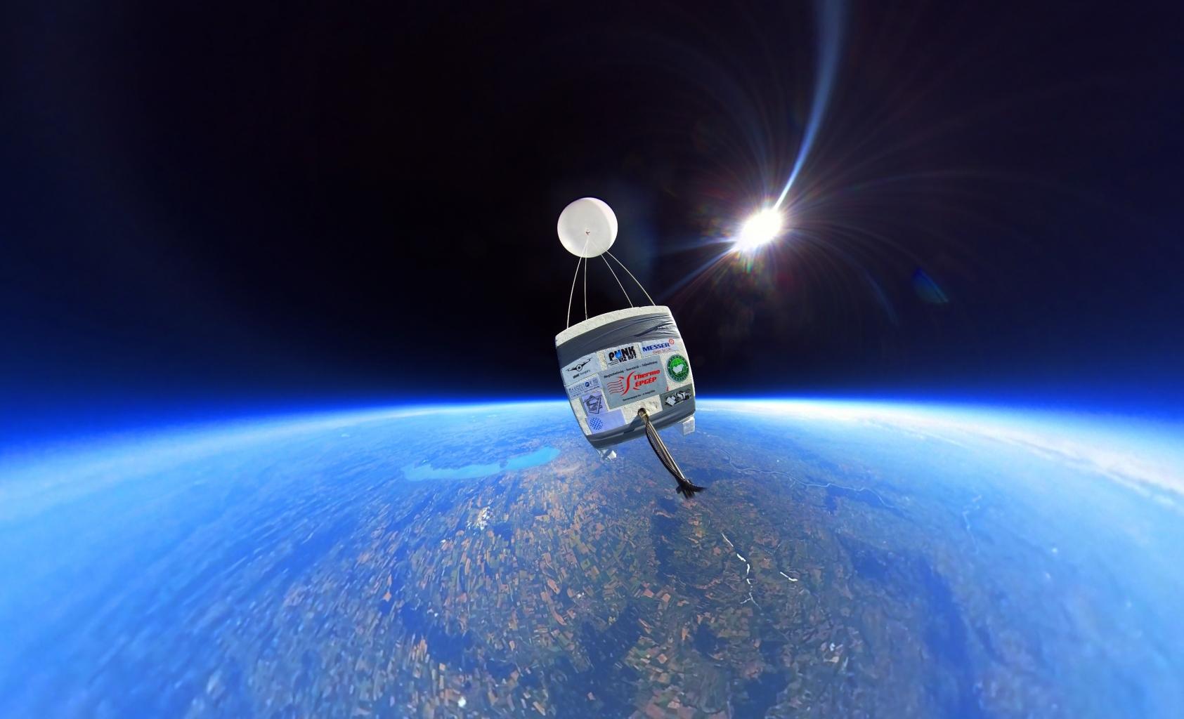 Virtuális űrutazás a sztratoszféra peremén